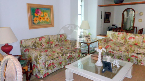 Apartamento Com 3 Dormitórios À Venda, 256 M² Por R$ 750.000 - Enseada - Guarujá/sp - Ap10009