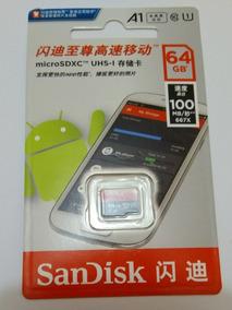 Cartão Sandisk Ultra 667x Micro Sd A1 64gb Classe 10 100mb/s