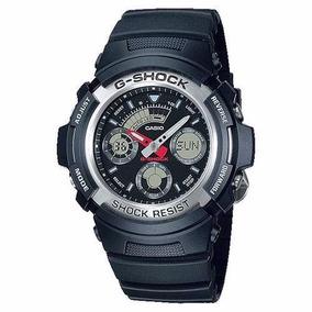 Relógio Casio G-shock Masculino Aw-590-1adr Original C/ Nfe