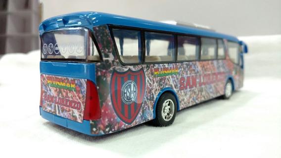 Micro Colectivo Bus San Lorenzo Metal 19cm