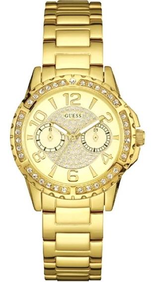 Relógio Feminino Guess Analógico 92591lpgsda1 Dourado