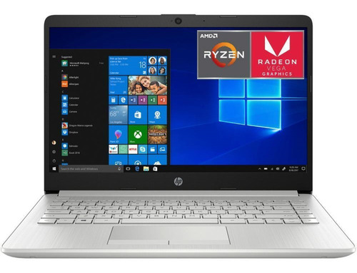 Notebook Hp Gamer Ryzen 3 8gb Ssd 1tb Vega Tranza