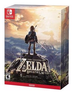 The Legend Of Zelda Breath Of The Wild N-s Edición Especial