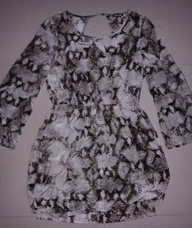 Vestido De Dama Exotic Animal Print