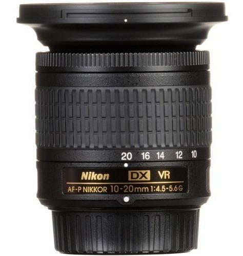 Lente Nikon Af-p Dx Nikkor 10-20mm F/4.5-5.6g Vr C/ N/f