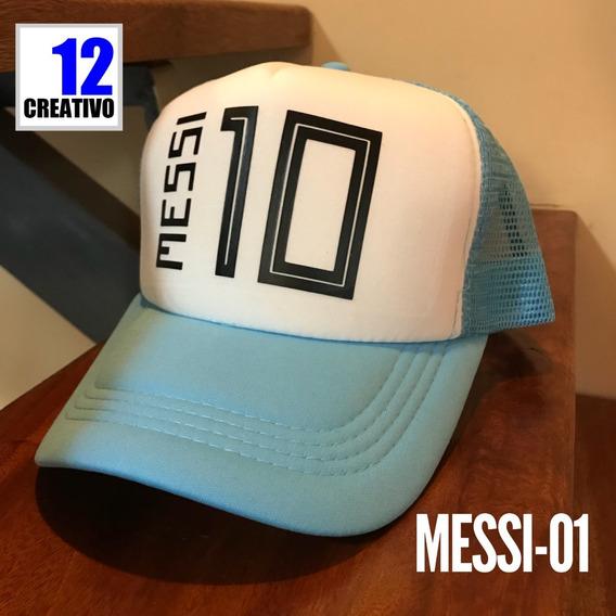 Gorra Messi Seleccion Argentina Rusia 2018 - Vinilo Premium