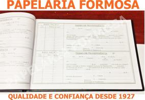 Livro Registro De Transferência De Ações Nominativas 100 Fls