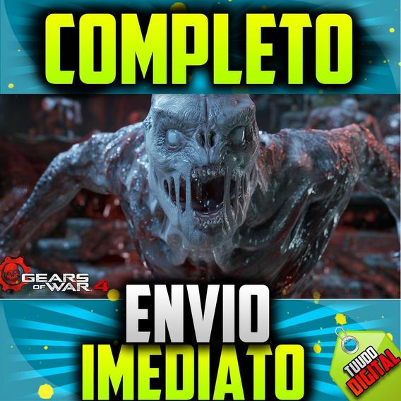 Gears Of War 4 Pc + Completo + Brinde + 1 Jogo