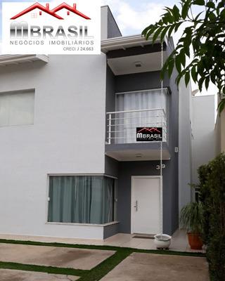 Sobrado 3 Dormitórios No Condomínio Villagio Di Itaici - Ca04889 - 33101369