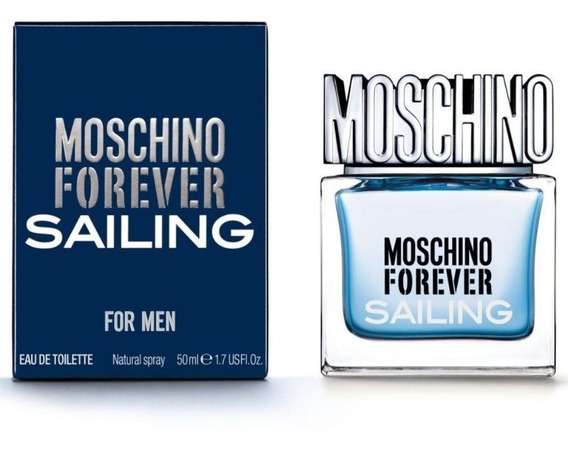Perfume Moschino Forever Sailing For Men 50 Ml - Selo Adipec