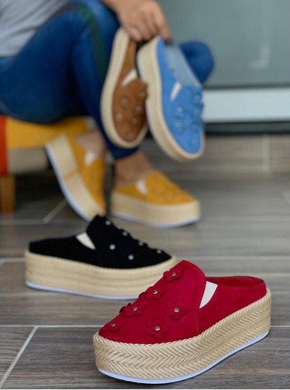 Zapatos Plataforma Yute Elegancia Envio Gratis