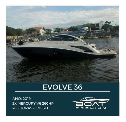 Evolve 36, 2019, 2x V6 Mercury 260hp - Beneteau - Real Top
