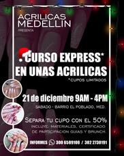 Curso Uñas Acrilicas Medellin