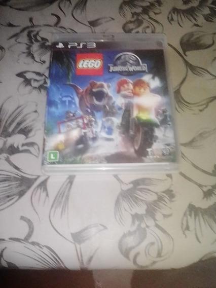 Jogo Novo De Ps3 Lego Jurassic World