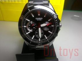 Relógio Casio Mtd-320d-1avcf . Novo Na Caixa Original.