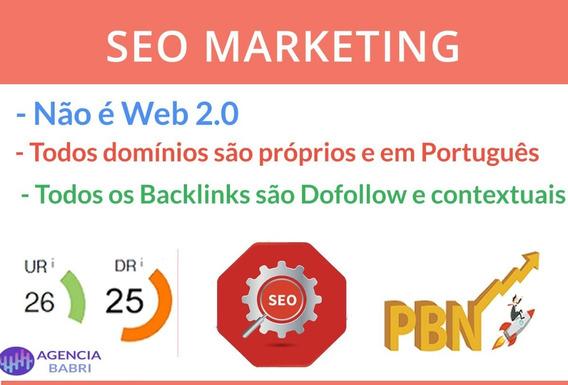 20 Backlinks Dr 25+ Exploda Os Resultados No Ranking Google