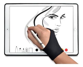 Guante De 2 Dedos Tableta Dibujo Digital O Protección Papel