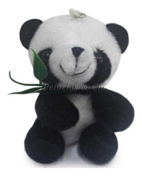 Mini Chaveiro De Pelucia Panda - Lembrancinhas - Unidade