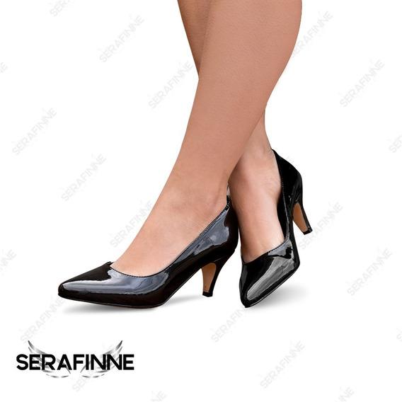 Estiletos Zapatos Taco Fino Elegante Mujer Moda Bianca