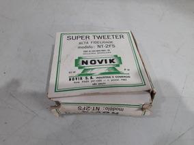 Tweeter Novik Nt-2fs 40w Raridade Original System Aiko