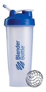 Blender Bottle Classic Tapa Azul 20 Oz (600 Ml)