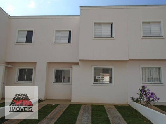 Casa Com 2 Dormitórios Para Alugar, 45 M² Por R$ 1.000,00/mês - Jardim Santa Rita I - Nova Odessa/sp - Ca2818
