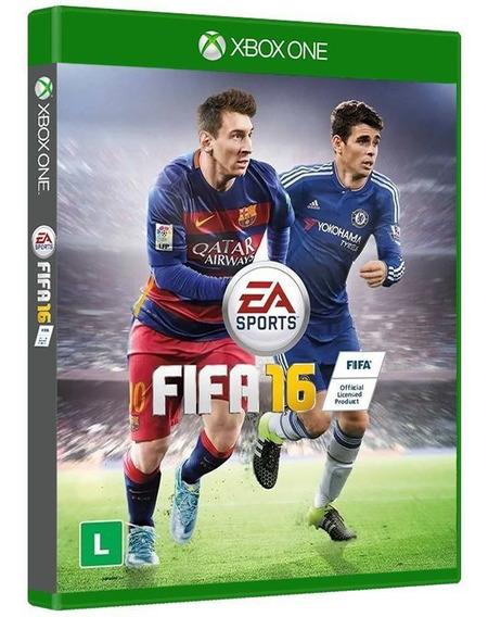 Fifa 16 - Xbox One Mídia Física Original Nova E Lacrada