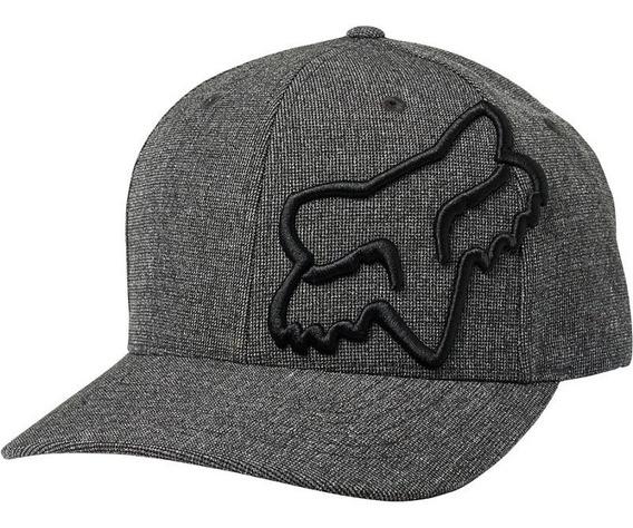 Gorra Fox Clouded Flexfit Negro Casual