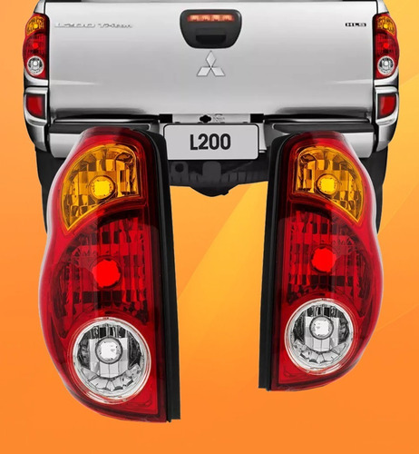 Imagem 1 de 7 de Lanterna Traseira L200 Triton 2007 2008 2009 2010 2011 2012