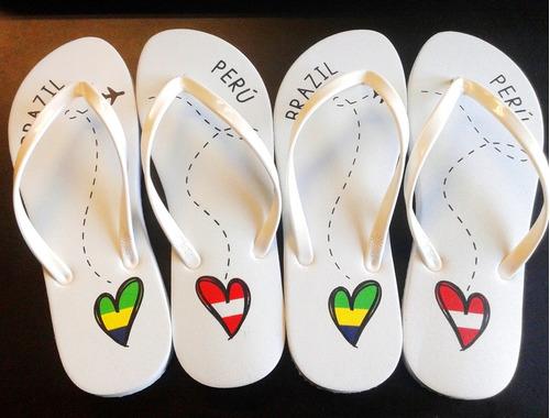 Recuerdos, Bodas,quince, Matrimonio,sandalias Personalizadas