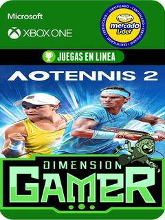 Ao Tennis 2 - Xbox One Modo Local + En Linea
