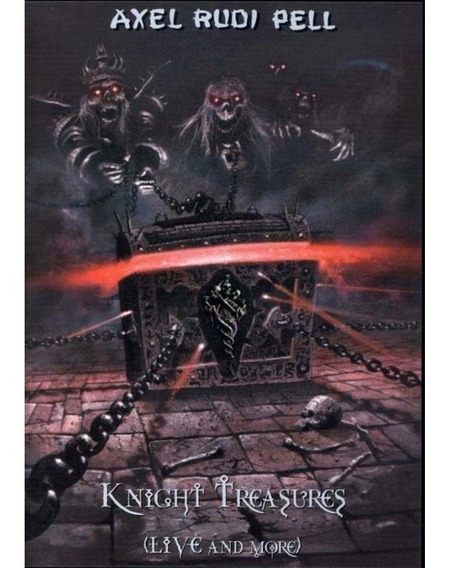 Axel Rudi Pell - Knight Treasures Live And More Dvd#