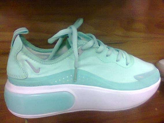 Tenis Nike Air Max Dia Verde Agua Nº34 Ao 39 Original