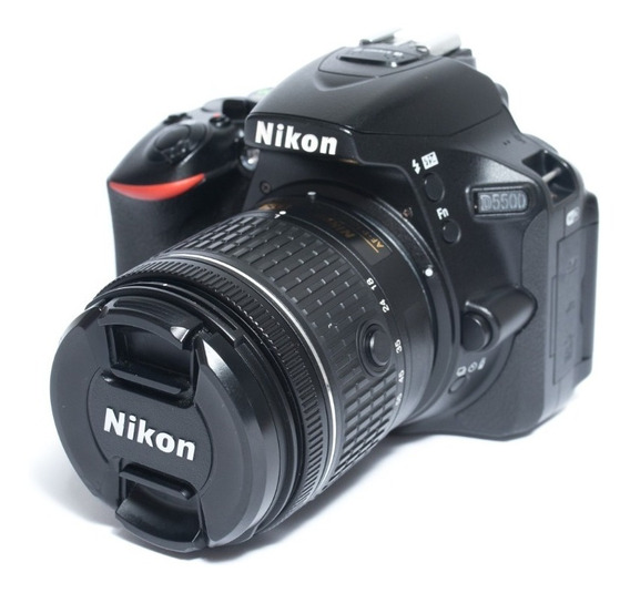 Câmera Nikon D5500 + Lente 18 - 55mm Na Caixa