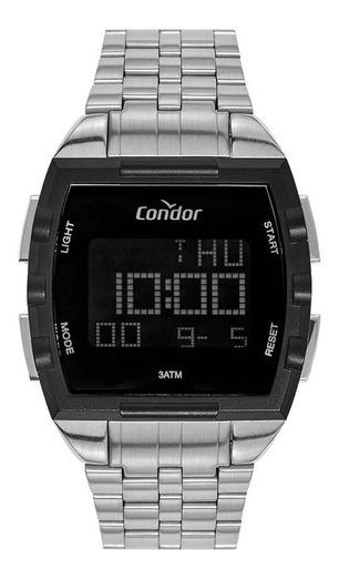 Relógio Condor Masculino Digital Prata Cobj2649ac/3k