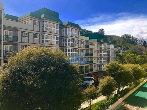 Apartamento Com 3 Dormitórios À Venda - Itaipava - Petrópolis/rj - Ap0084