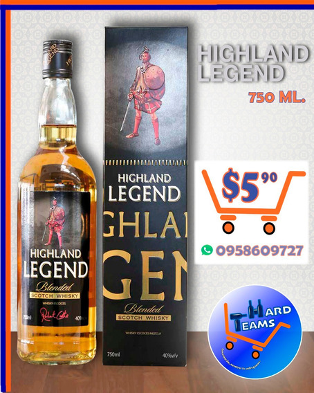 Whisky Highland Legend - Ron Abuelo - Tequila Rancho Calient