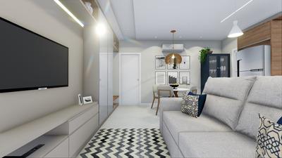 Apartamento Em Trindade, Florianópolis/sc De 40m² 1 Quartos À Venda Por R$ 254.000,00 - Ap105104