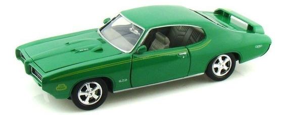 Pontiac Gto Judge 1969 Escala 1:24 Motor Max Mi Cielo Azul