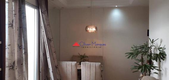 Apartamento Com 2 Dormitórios À Venda, 62 M² Por R$ 320.000,00 - Bussocaba - Osasco/sp - Ap7120
