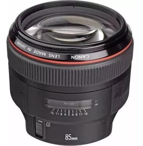 Lente Canon 85mm 1.2 L Il Usm