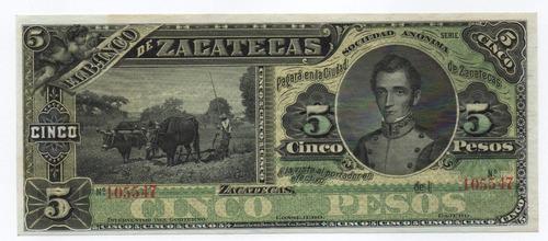 Imagen 1 de 2 de Mexico  Banco Zacatecas