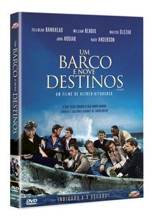 Dvd Um Barco E Nove Destinos, Hitchcock Preto-branco 1944 +