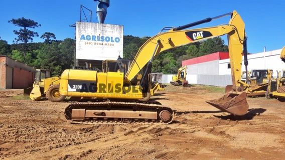 Escavadeira Hidráulica Caterpillar 320 Dl Ano 2012