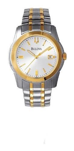 Relógio Bulova Unissex Slim Misto Wb21016b