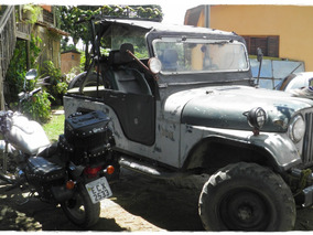 Jeep Willians 1959 2 Dono - Original Troca Ou Venda