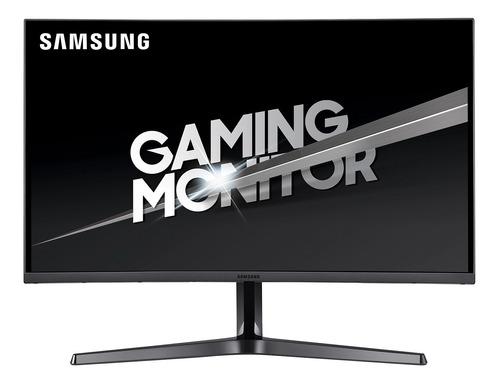 "Monitor curvo Samsung C32JG50QQ led 31.5"" plateado oscuro 100V/240V"