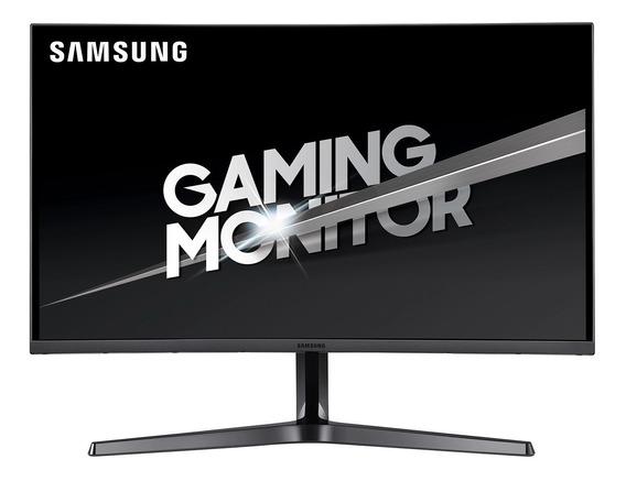 "Monitor curvo Samsung CF39X Series C32JG50QQ led 31.5"" plateado oscuro 100V/240V"
