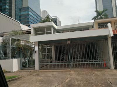 Casa Comercial En Alquiler En Obarrio (id 12327)
