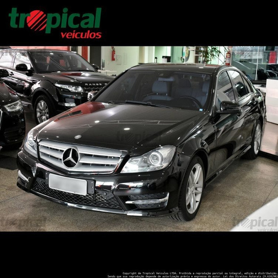 Mercedes-benz C 200 1.8 Cgi Turbo Sport 16v Gasolina 4p